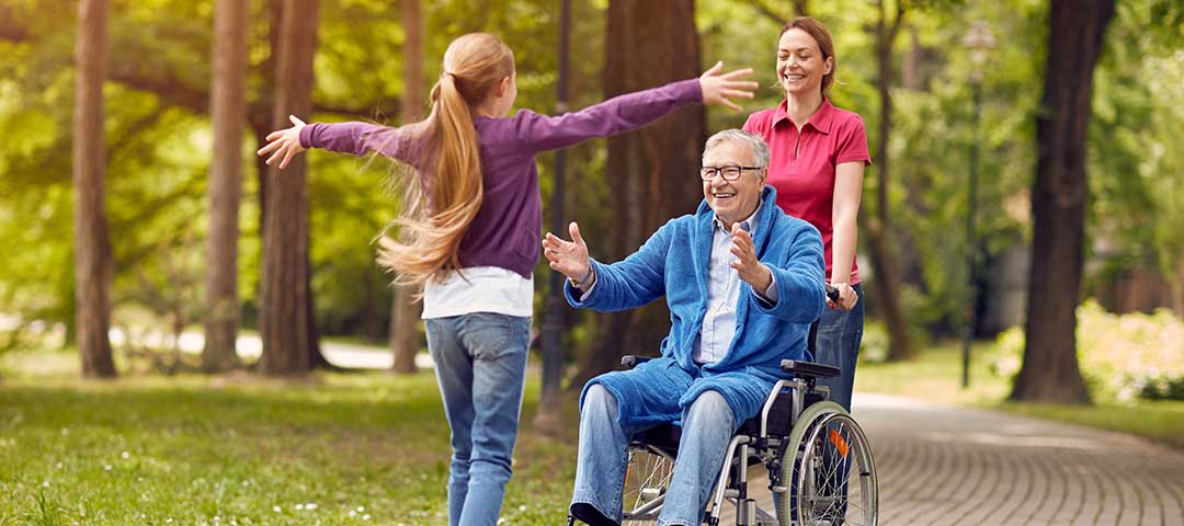 Long Term Care Insurance - Woman in wheel chair