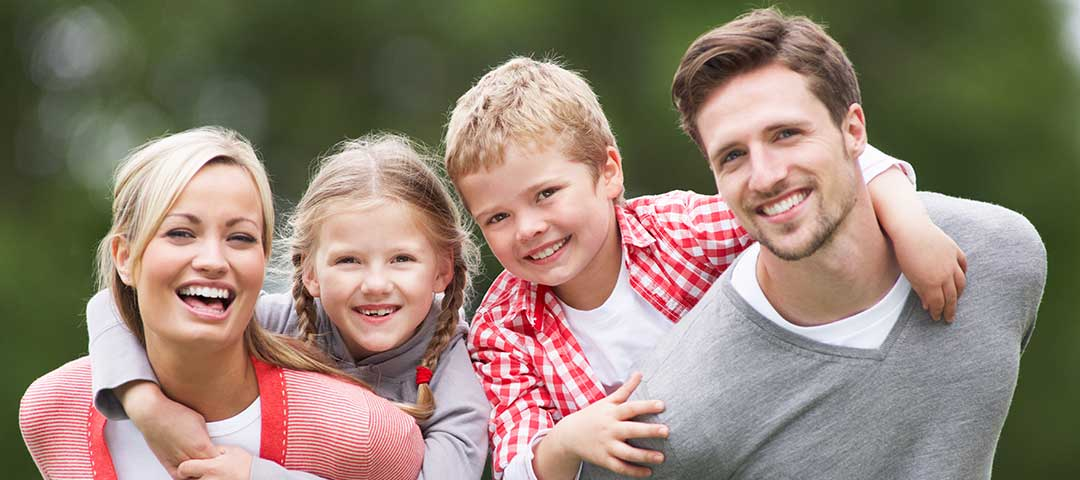 Insured Family by Independent Insurance Broker